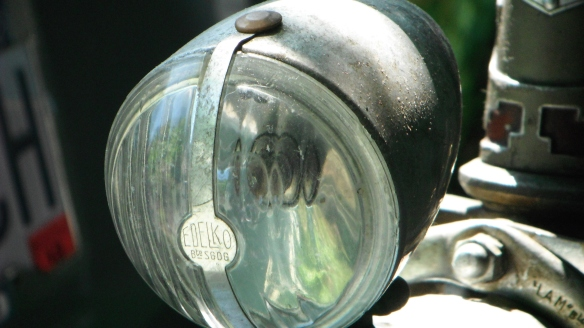 peugeot late 40's headlamp