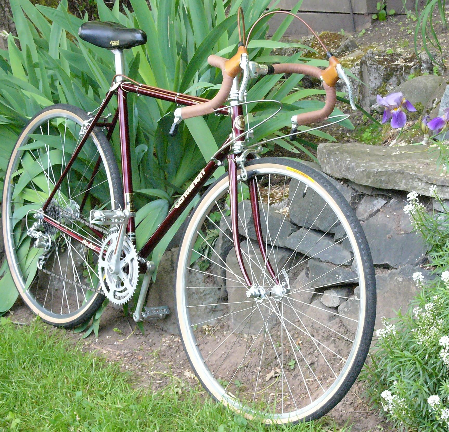 1978 centurion pro tour restoring vintage bicycles from. Black Bedroom Furniture Sets. Home Design Ideas