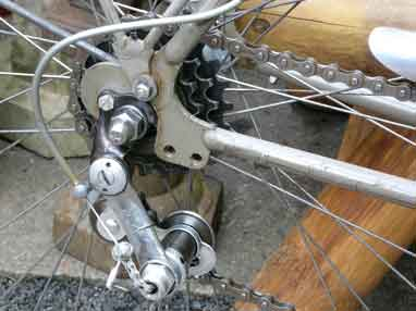 Setting Up a Simplex Tour de France Rear Derailleur