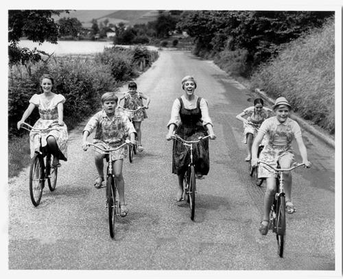 julie andrews bicycle