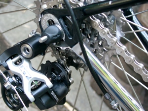Columbus drop-outs, fully chromed chain stays