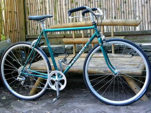 Peugeot 531 City Bike Conversion