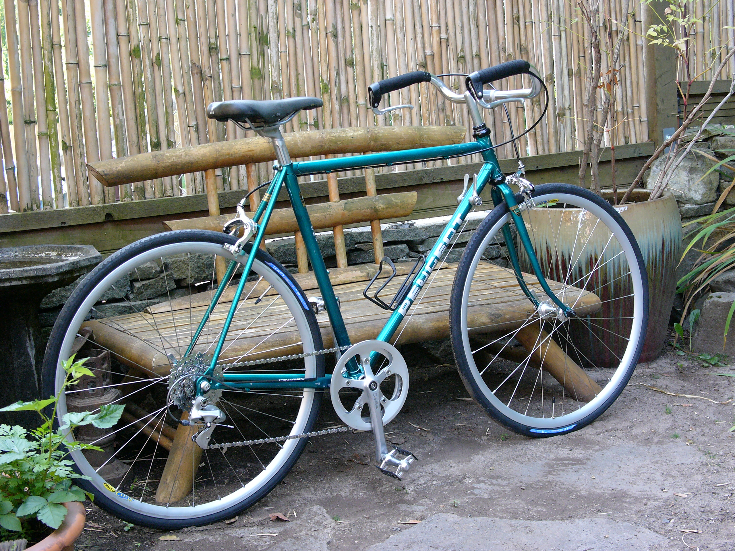 1980's Peugeot 650c Conversion | Restoring Vintage Bicycles from the