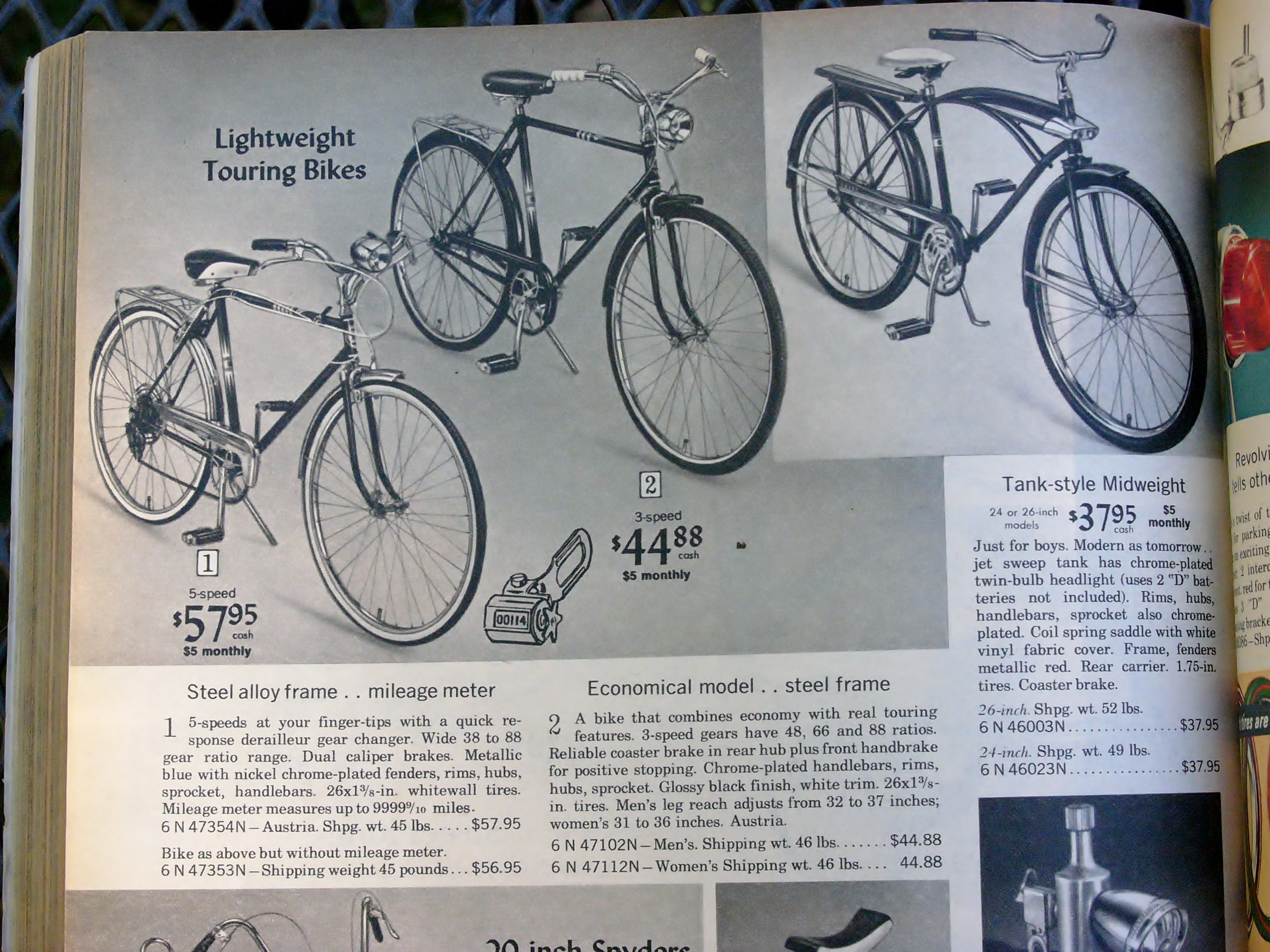 1960 sears bicycle - 2015 10 02 004