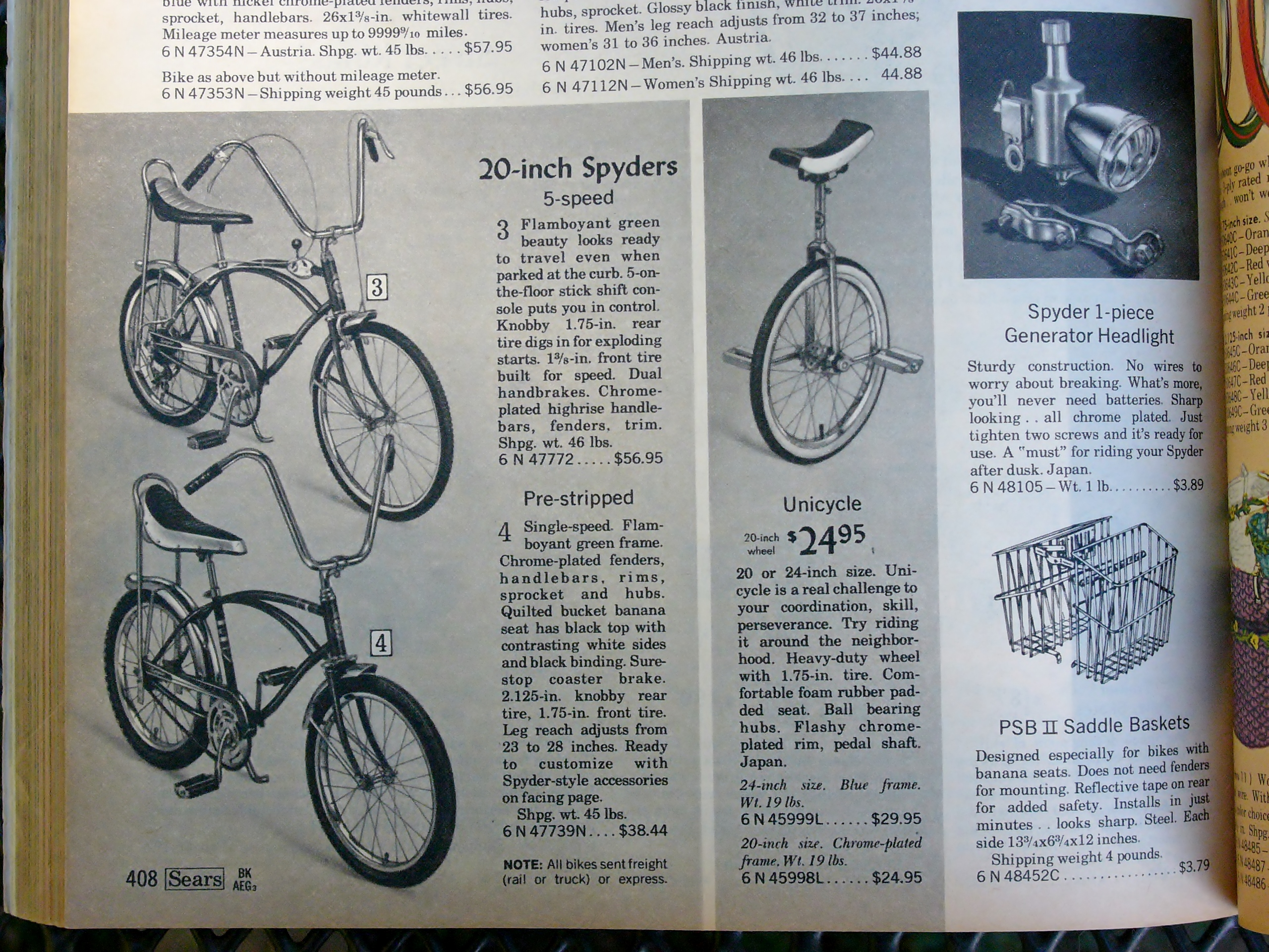 1960 sears bicycle - 2015 10 02 005