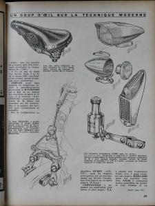 1962 Le Cycle Magazine - Daniel Rebour drawings