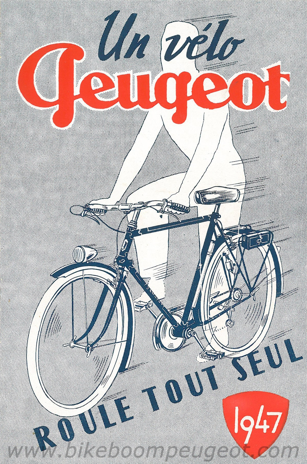 1947 Peugeot Bicycle Catalogue | Restoring Vintage Bicycles