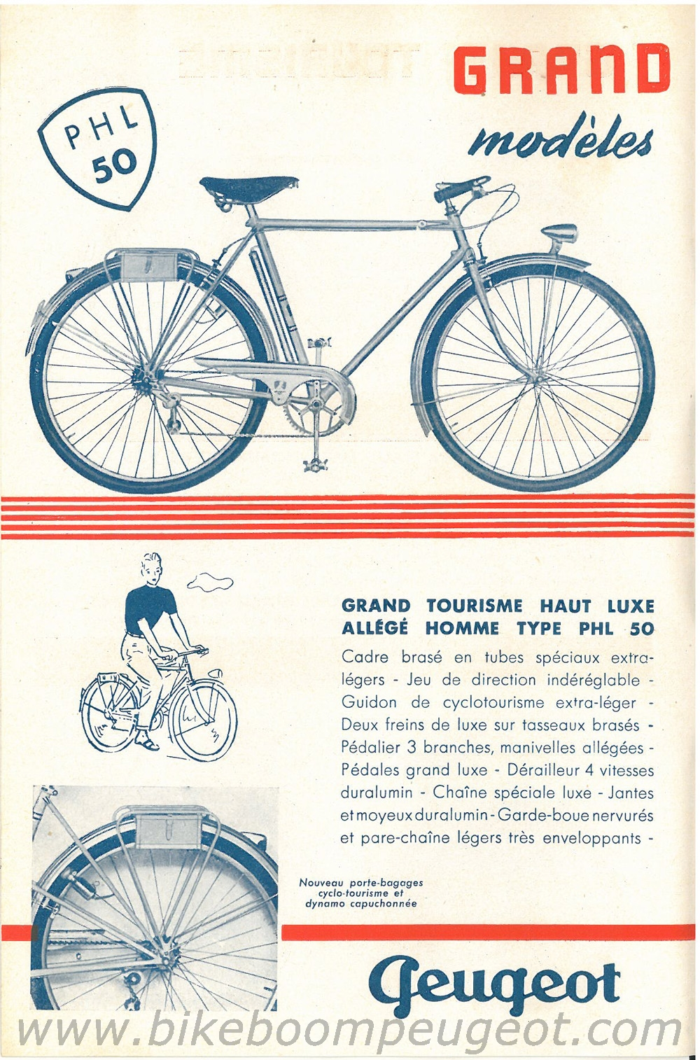 1947 Peugeot Bicycle Catalogue | Restoring Vintage Bicycles from the