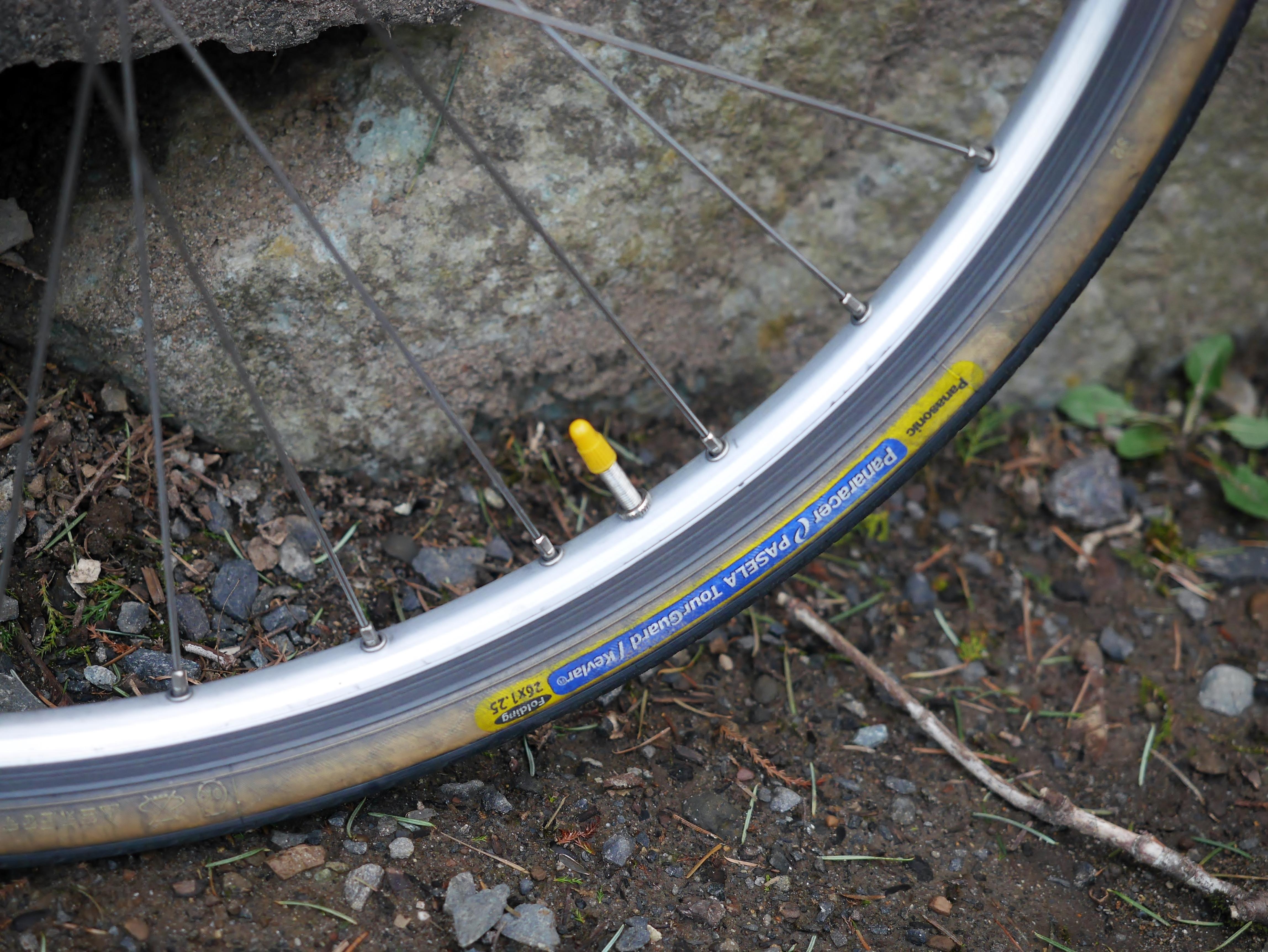 8bedb9264bb I built the wheels myself (Mavic X221 32 hole rims on Shimano hubs)