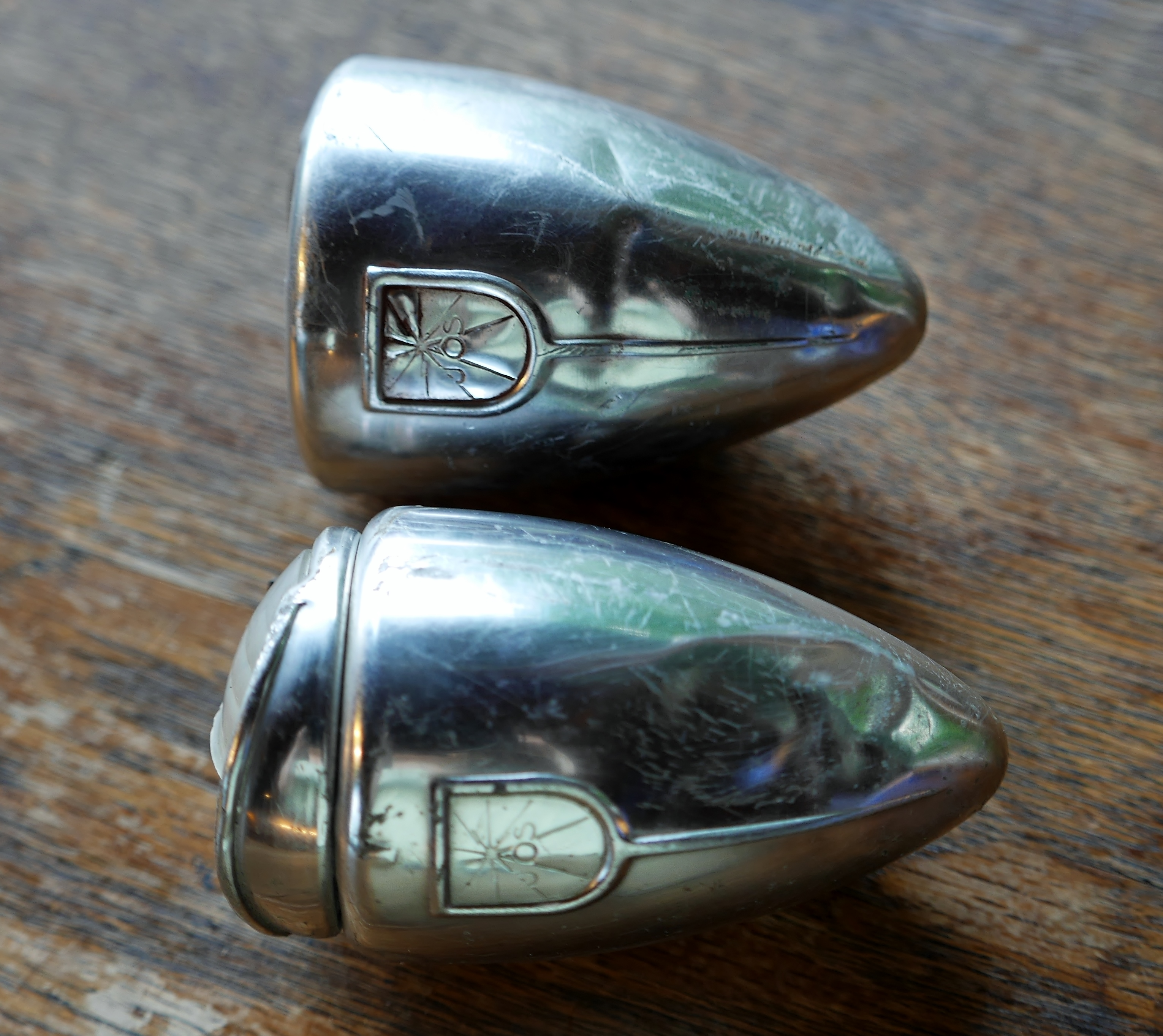 JOS Vintage Head and Tail Lamps | Restoring Vintage Bicycles from