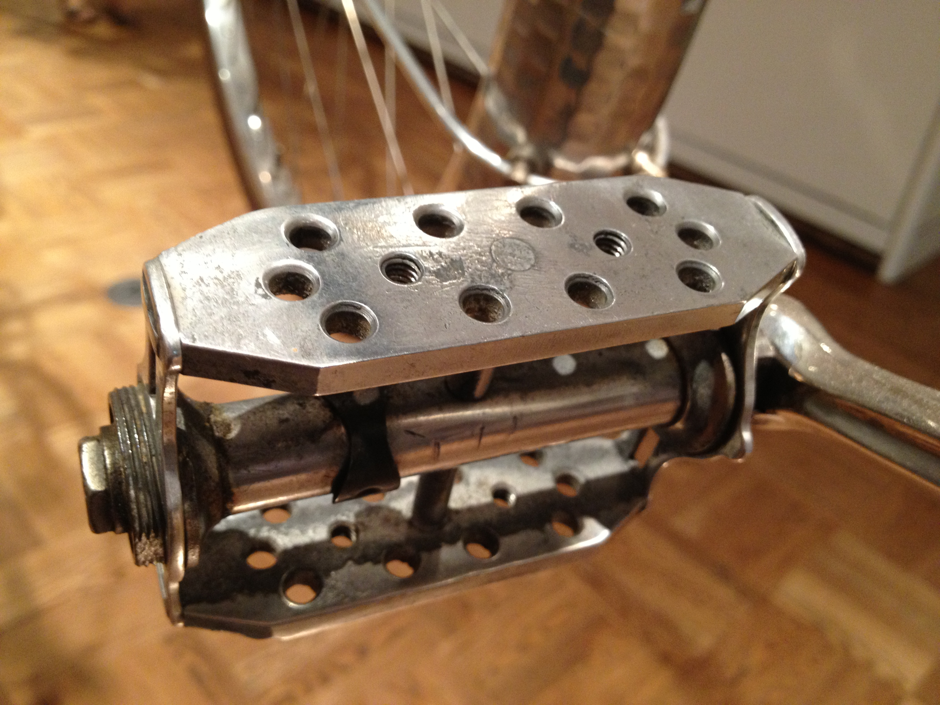 Mercian Cycles   Restoring Vintage Bicycles from the Hand